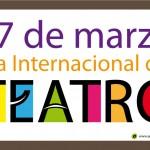 Día Internacional del Teatro – postal de regalo
