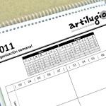 Calendario semanal 2011 para descargar
