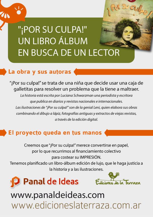 2013-09-por-su-culpa-panal-de-ideas-afiche