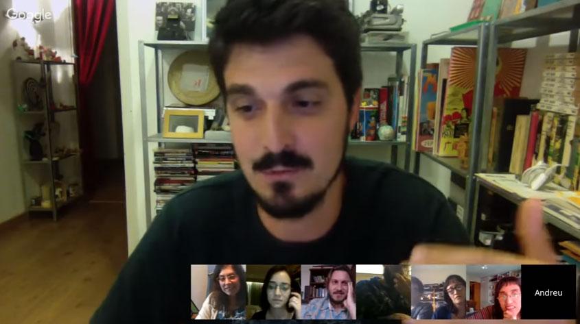 Videoconferencia Mesa 1, experiencias de cultura libre #GCultural2016